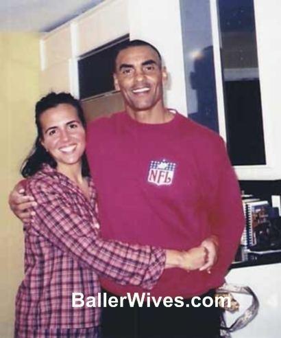 Herm Edwards PicturesPhotos Of Herman Edwards Wife Lia Camara Edwards The