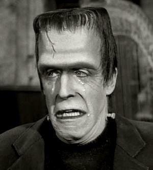 Herman Munster Fred Gwynne as Herman Munster