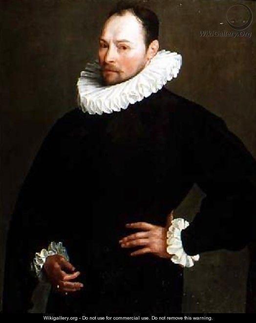 Herman van der Mast Portrait of a Gentleman aged 33 1589 Herman van der Mast