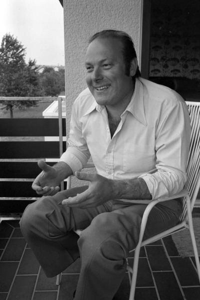 Hermann Becht Besuch des Baritonsngers Hermann Becht in seiner Heimatstadt