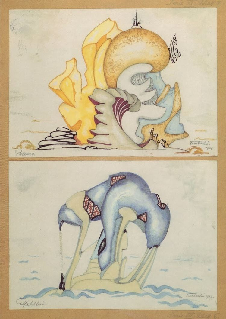 Hermann Finsterlin Hermann Finsterlin German Expressionist visionary architect