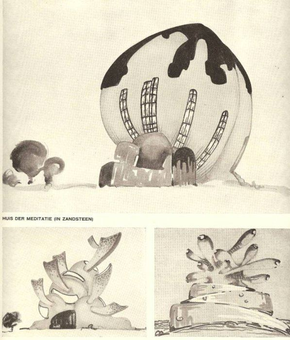Hermann Finsterlin Special issue of Wendingen on Hermann Finsterlin Special issue