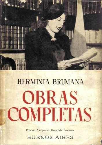 Herminia Brumana Una mujer piguense imprescindible Herminia Brumana 1897 1954