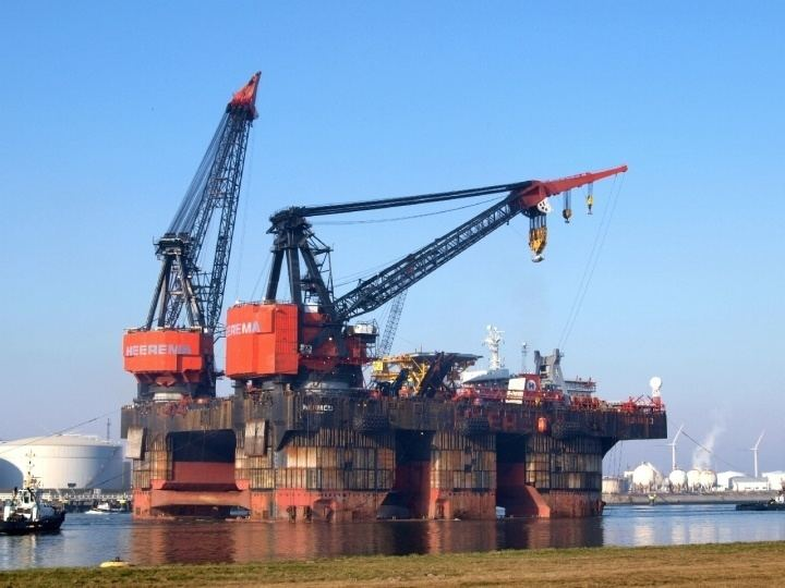 Hermod (ship) Ships and Harbours Photos Hermod Semisubmersible Crane Vessel