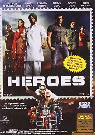 Amazoncom Heroes 2008 Sunny Deol Salman Khan Preity Zinta