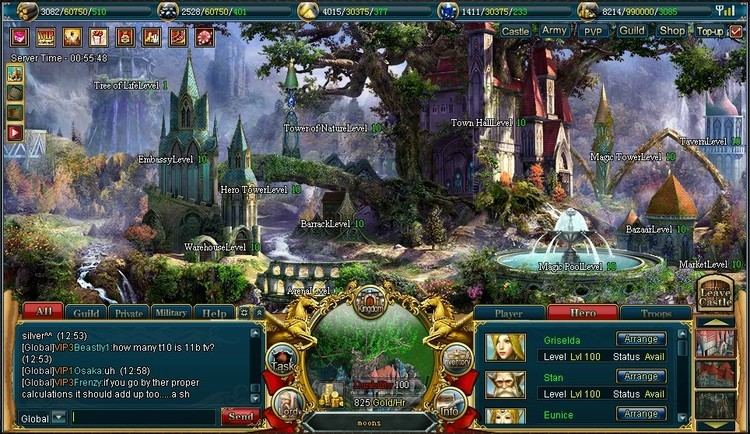 Heroes of Gaia Heroes of Gaia Fantasy Browser Game Free to Play