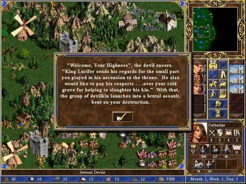 Heroes of Might and Magic III: Armageddon's Blade TMFTP Heroes of Might and Magic III Armageddon39s Blade 1 YouTube