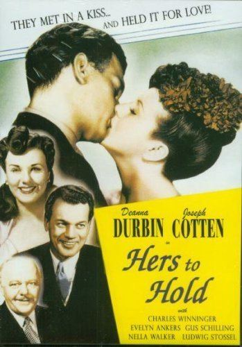Hers to Hold Amazoncom Hers To Hold Deanna Durbin Joseph Cotten Evelyn