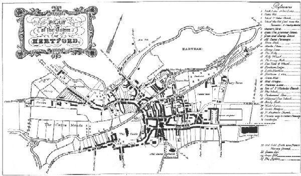 Hertford in the past, History of Hertford