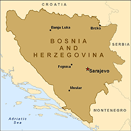 Herzegovina Health Information for Travelers to Bosnia and Herzegovina