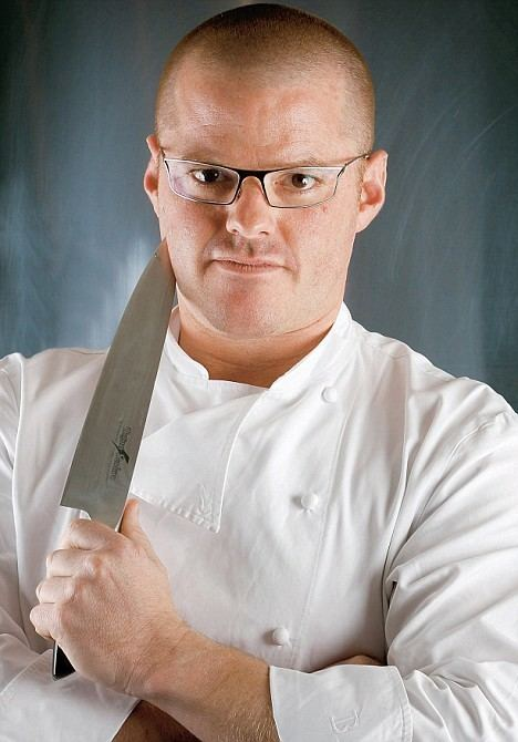 Heston Blumenthal Chef Heston Blumenthal on conquering the raging temper that made