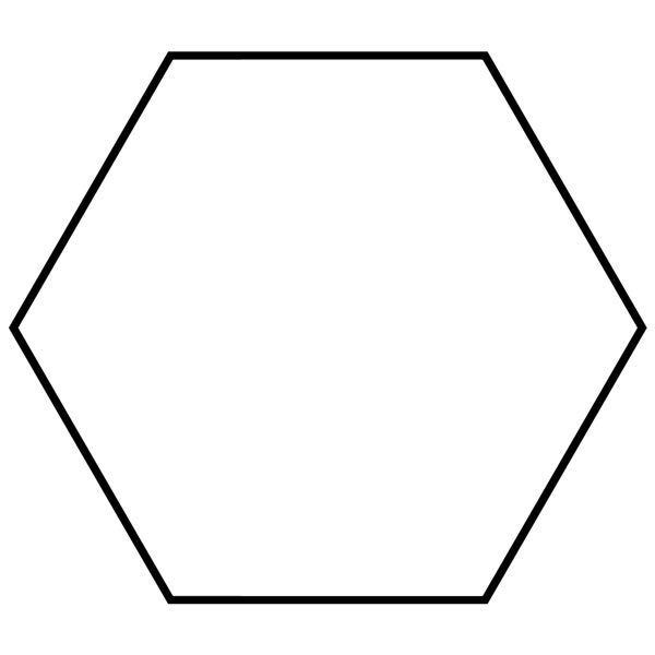 Hexagon Hexagon Picture Images of Shapes
