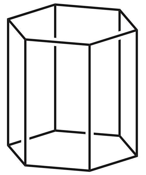 Hexagonal prism Hexagonal Prism Picture Images of Shapes