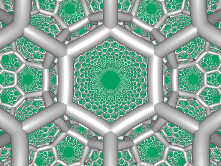 Hexagonal tiling honeycomb