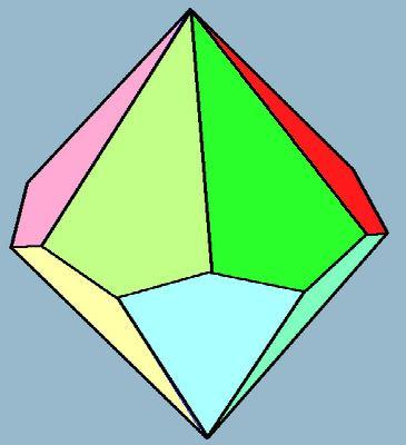Hexagonal trapezohedron