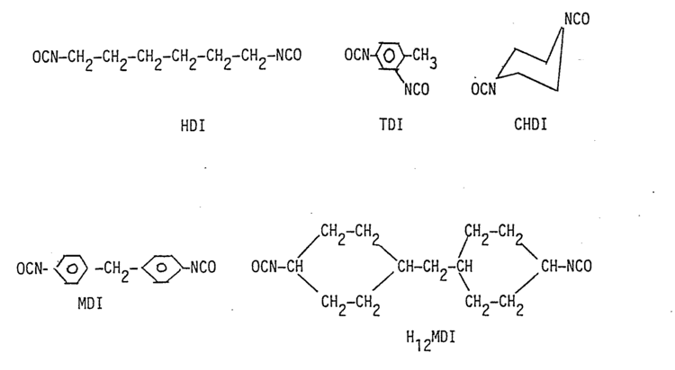Hexamethylene diisocyanate Patent EP0295055A2 Biodegradable polymeric materials based on