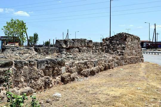 Hexamilion wall Hexamilion Wall Greek Castles