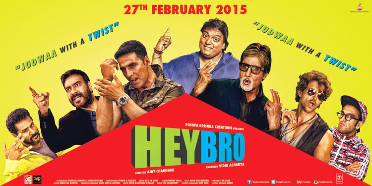 Bollywood Superstars Refuse To Charge Money For Hey Bro Cameos