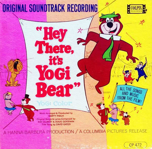 Hey There, Its Yogi Bear! movie scenes HEY THERE IT S YOGI BEAR Original Soundtrack Recording Colpix Records CP 472 Mono SCP 472 Stereo 12 33 1 3 RPM LP 1964