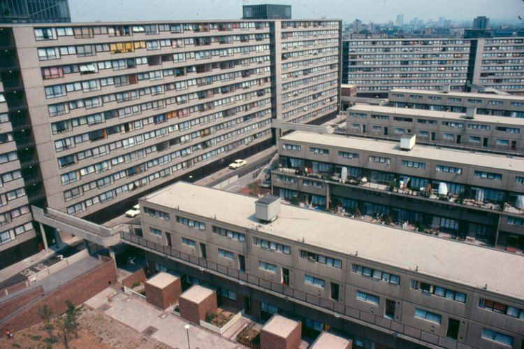 Heygate Estate THE HEYGATE ESTATE IN 1975 Southwark Notes whose regeneration