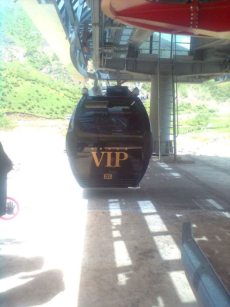 Heyran Gondola lift, Astara