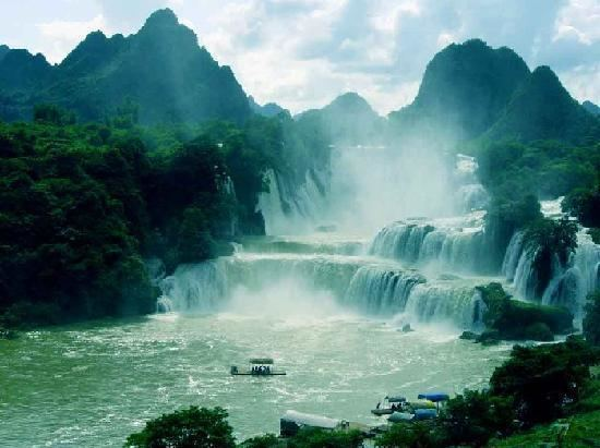 Hezhou Beautiful Landscapes of Hezhou