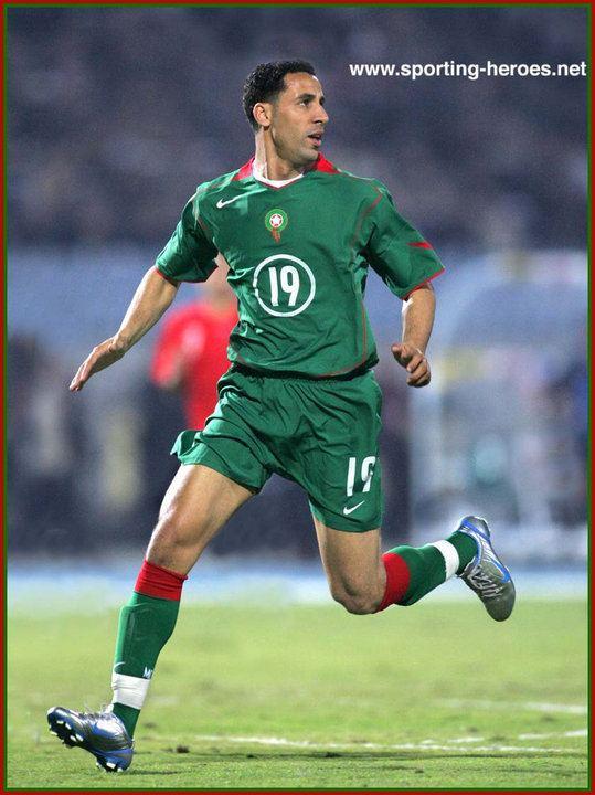 Hicham Aboucherouane Hicham Aboucherouane Coupe dAfrique des Nations 2006 Maroc
