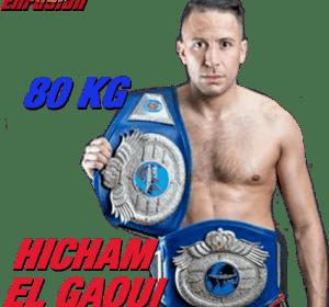 Hicham El Gaoui 80 kg Hicham El Gaoui Enfusion