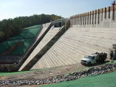 Hickory Log Creek Dam httpsuploadwikimediaorgwikipediaencceHic