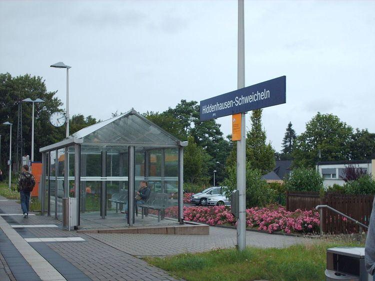 Hiddenhausen-Schweicheln station