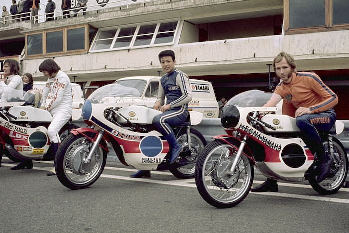 Hideo Kanaya Hideo Kanaya race Yamaha Motor Co Ltd