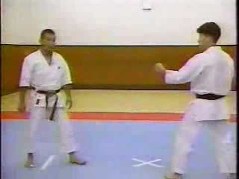 Hideo Yamamoto (karateka) Hideo Yamamoto karate 001 YouTube