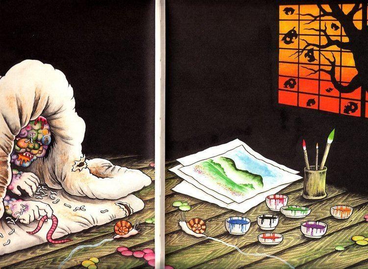 Hideshi Hino Artbook Spotlight The Art of Hideshi Hino Slightly Biased Manga