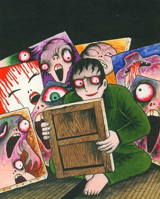 Hideshi Hino 44 best Hideshi Hino images on Pinterest Japanese horror Manga