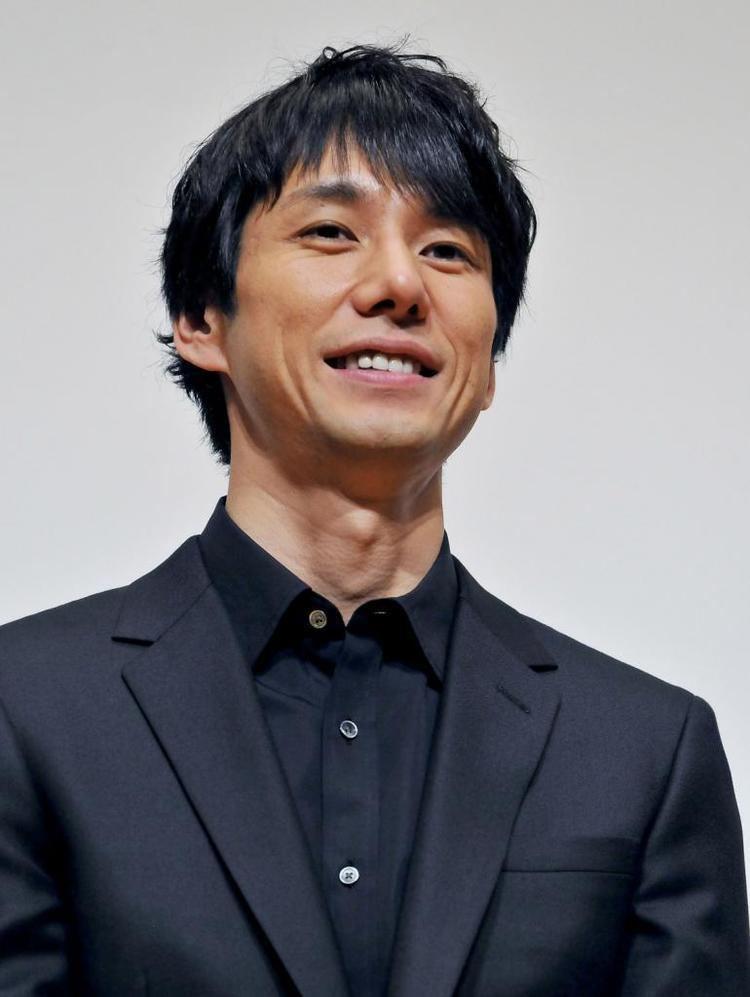Hidetoshi Nishijima (actor) LR Japanese actor and director Yusuke Iseya actors