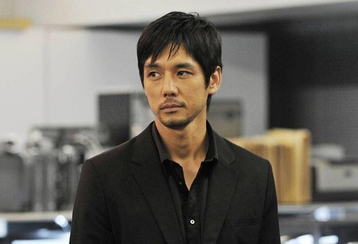 Hidetoshi Nishijima (actor) Hidetoshi Nishijima People Pinterest