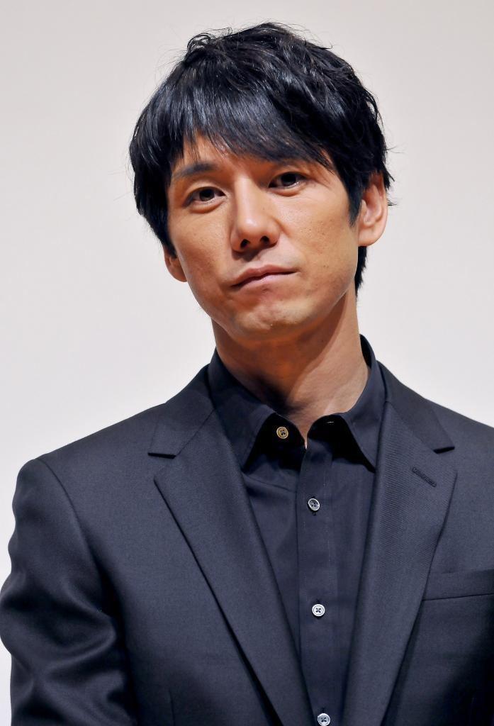Hidetoshi Nishijima (actor) Japanese actor Mirai Moriyama attends a stage greeting