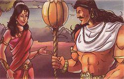Hidimba Mythological Story Bhima and Hidimba
