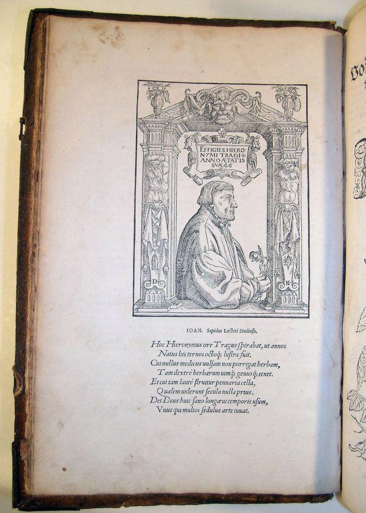 Hieronymus Bock Cincinnati History Library and Archives Hieronymus Bock