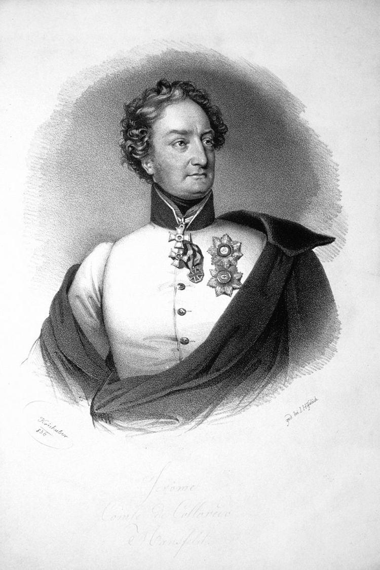 Hieronymus Karl Graf von Colloredo-Mansfeld