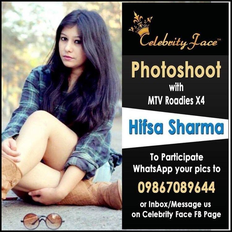 Hifsa Sharma MTV Roadies X4 Hifsa Sharma Coming in Celebrity Face Season 41st