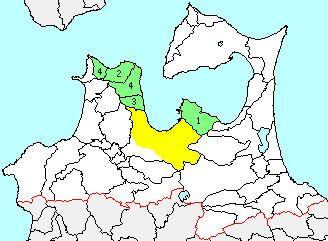 Higashitsugaru District, Aomori