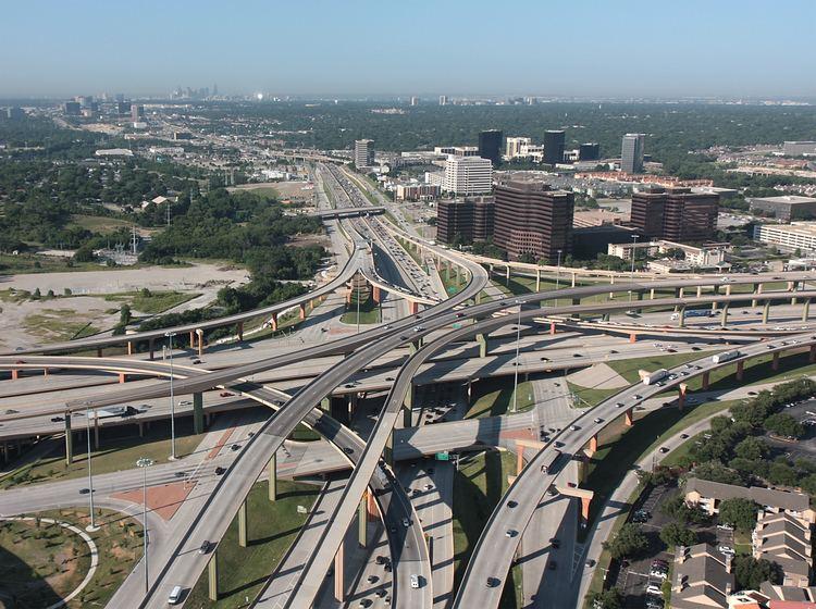 High Five Interchange Aerial Gallery aerial views