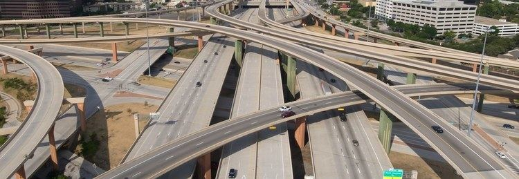 High Five Interchange High Five Interchange Interchange in Dallas Thousand Wonders