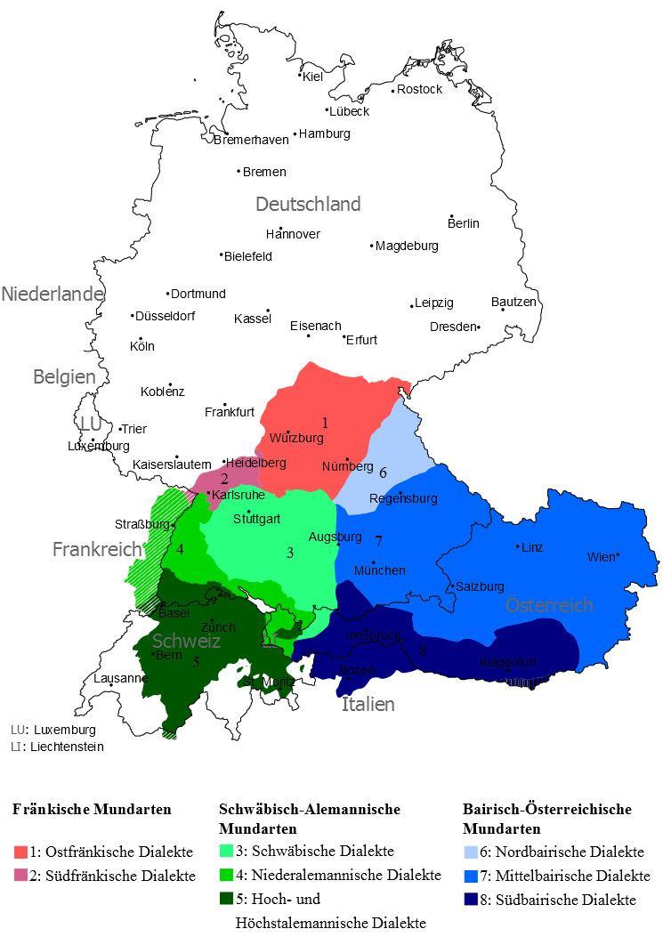 High Franconian German