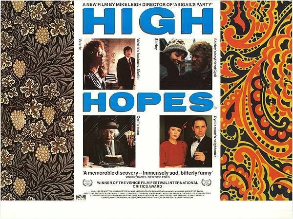 High Hopes (1988 film) High Hopes movie posters at movie poster warehouse moviepostercom