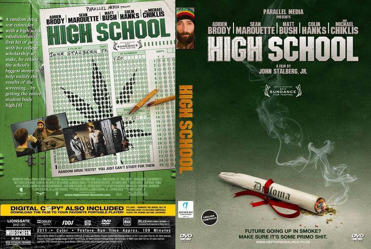 High School (2010 film) High School 2010 R0 Movie DVD Front DVD Cover