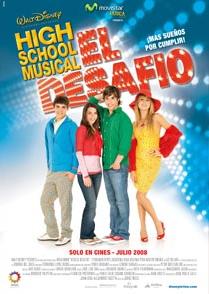 High School Musical: El Desafio movie poster