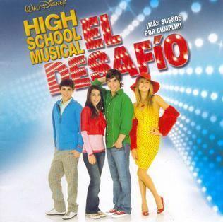 High School Musical: El Desafio movie scenes High School Musical El Desafio HSM El Desafio CD JPG