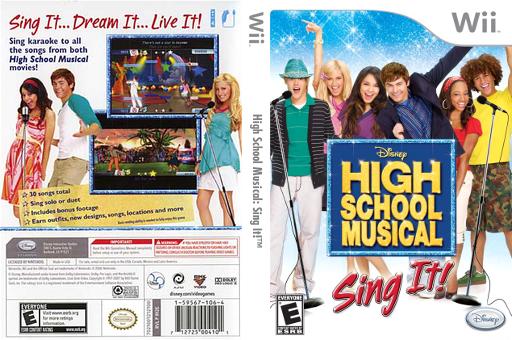 High School Musical: Sing It! artgametdbcomwiicoverfullUSRI2E4Qpng1317736275